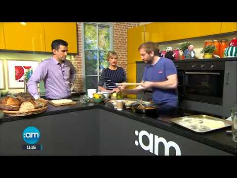 How To Make Apple Flatbread With Patrick Ryan From The Firehouse Bakery