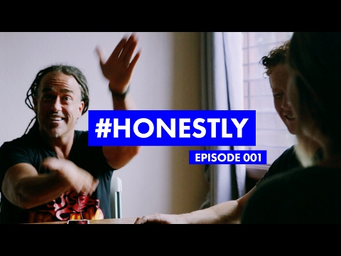 #HONESTLY (001) Todd White, Santa and your morning routine.