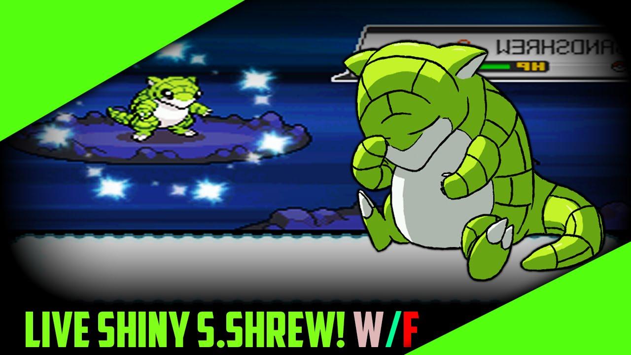 how to get sandshrew in pokemon soul silver