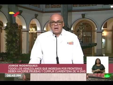 Reporte Coronavirus Venezuela, 06/04/2020: Toque de queda en San Antonio y Ureña / 6 nuevos casos