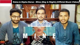 Foreigner Reacts To: Raisa & Dipha Barus - Mine (Day & Night) (Official Music Mp3)