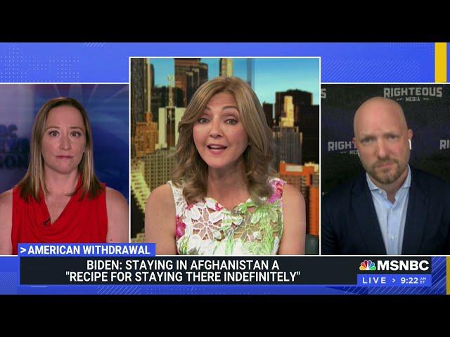 MSNBC - STEPHANIE RUHLE REPORTS - JULY 9, 2021: AFGHANISTAN TROOP WITHDRAWAL