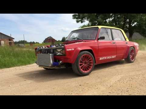 600hp Lada running on BMW V8