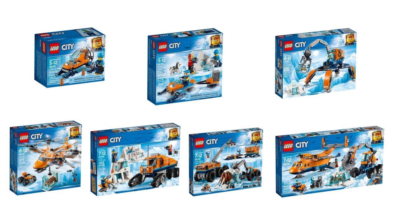 Nowości Czerwiec 2018 Lego City Badacze Arktyki Youtube