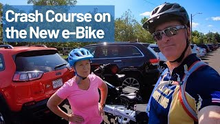 Crash Course on our new e-Bike