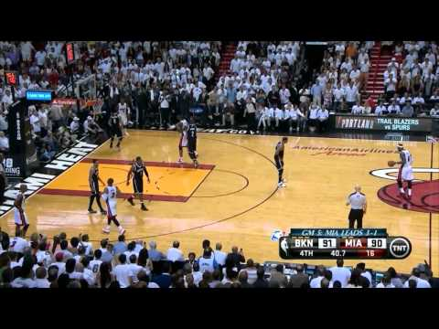 Nets vs Heat: Game 5 Highlights - Ray Allen Buries Garnett and Pierce