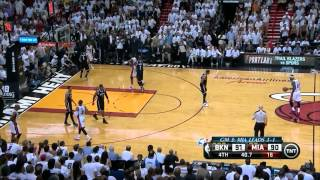 Repeat youtube video Nets vs Heat: Game 5 Highlights - Ray Allen Buries Garnett and Pierce