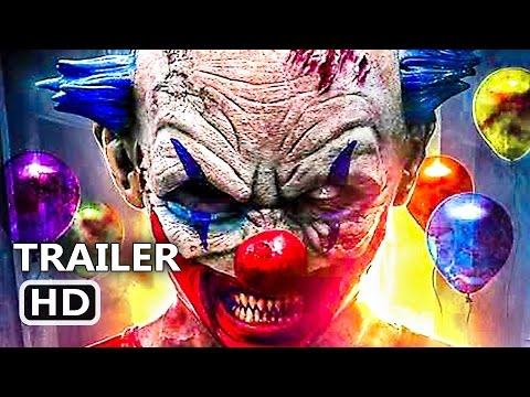 CLOWNTERGEIST Official Trailer (2017) Clown Horror Movie HD