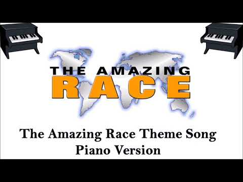 Amazing Race Theme Song - Piano Remix