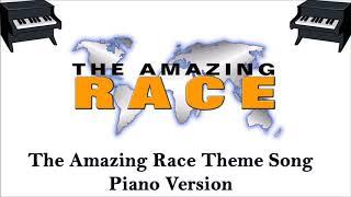 Amazing Race Theme Song - Piano Remix