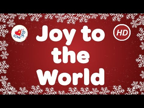 joy to the world with lyrics christmas carols children love to sing best christmas music