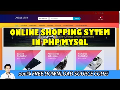Online Shopping System using PHP/MySQL | Free Download Source Code