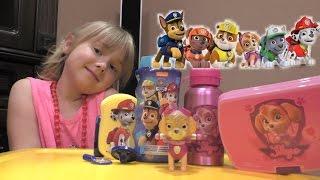 Щенячий патруль игрушки, детский шампунь, бутылочка и конфетки