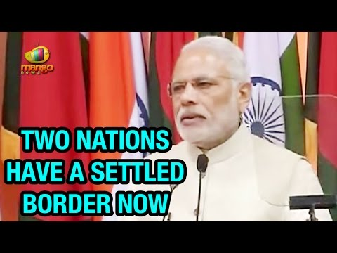 PM Modi Full Speech in Bangladesh | India - Bangladesh Border Issues Settled | Sheikh Hasina