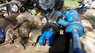 Traktor MTZ ta'mirlash 892 , almashtirish silindir KA 100 KA 110