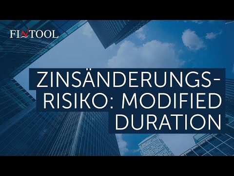 Zinsänderungsrisiko: Modified Duration