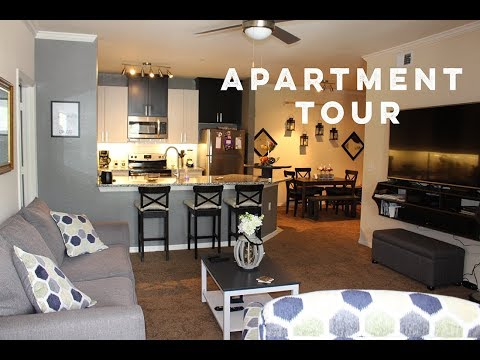 Apartment Tour | Decorating on a Budget, DIY Furniture