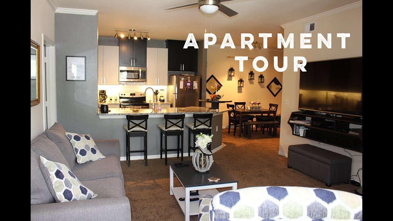 Apartment Tour | Decorating on a Budget, DIY Furniture - YouTube