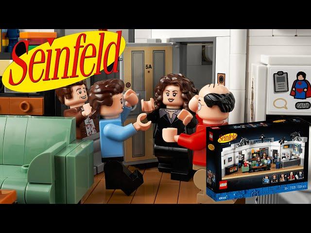 News: LEGO® Ideas Seinfeld Set (21328) vorgestellt