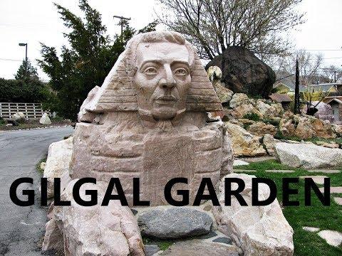 Gilgal Garden Brigham Young Joseph Smith Sphinx Mormon LDS Angel Moroni God Jesus Jerico Bishop Utah