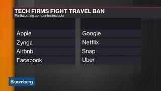 Tech Firms Unite Against Trump's Immigration Order