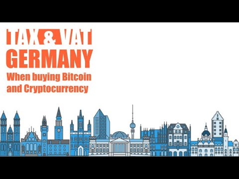 Taxation of cryptocurrency in germany