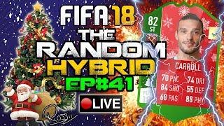 FUTMAS ANDY CARROLL!! THE RANDOM HYBRID! EPISODE 41! FIFA 18!