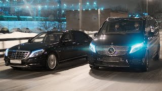 ₽27 млн. за минивэн Mercedes. Maybach отдыхает!