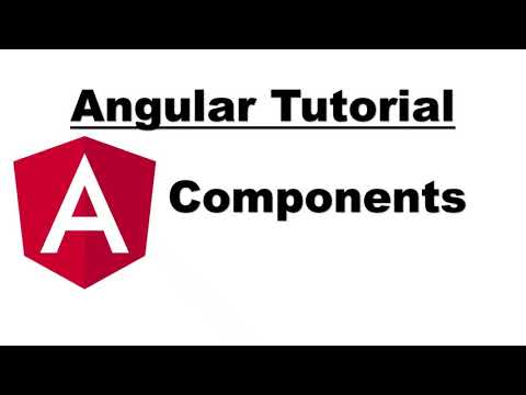 Angular Tutorial | Components in Angular