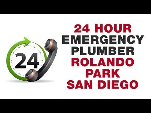 24 Hour Emergency Plumber Rolando Park San Diego California (619) 880-5644