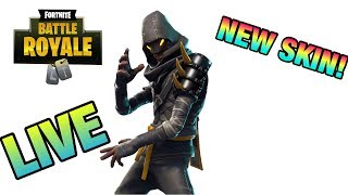 DUOS WITH TJ! *NEW CLOAKED STAR SKIN* (Fortnite BR Live Stream!)