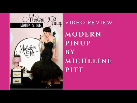 Review: Micheline Pitt's 'Modern Pin Up-Makeup And Hair' DVD