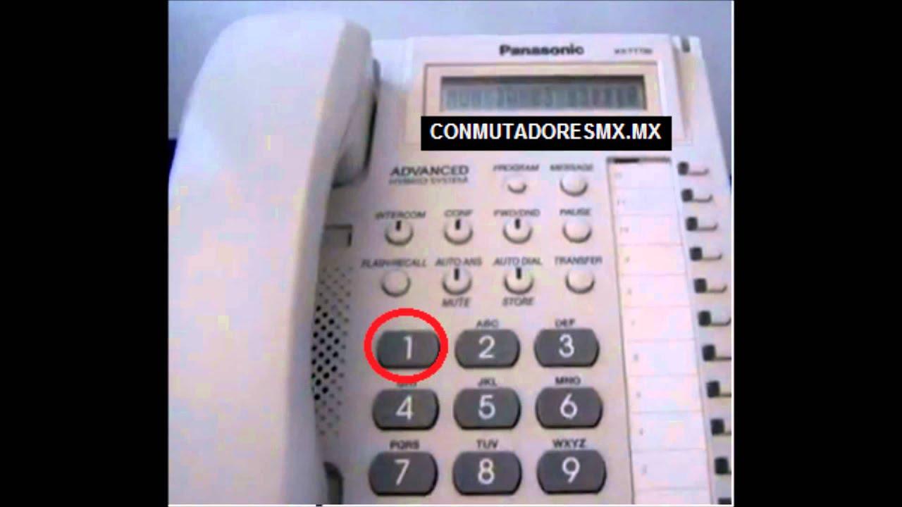 quitarle m sica al tel fono kx t7730 youtube rh youtube com Panasonic Kx T7730 Manual Guide Panasonic Kx T7730 Manual Guide