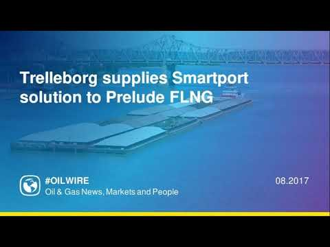 Trelleborg supplies Smartport solution to Prelude FLNG