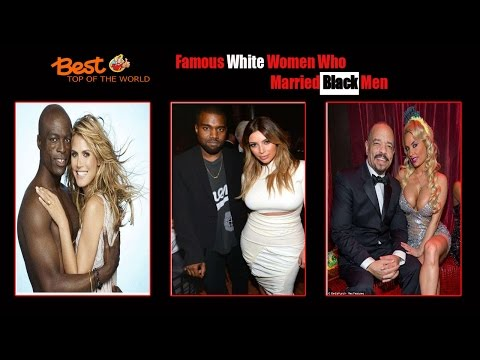Best Top of The world 18 Famous White Women Who Married Black Men