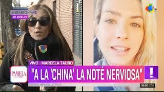 "Tauro le responde a la ""China"" Suárez - Pamela a la Tarde (23/08/2019)"
