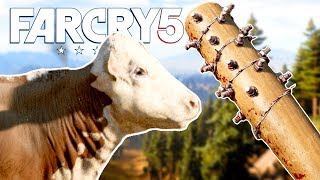 FAR CRY 5 Funny Moments Gameplay #5 - All Guns Blazing, Worst Gun for Hire and Epic Baseball Bat!