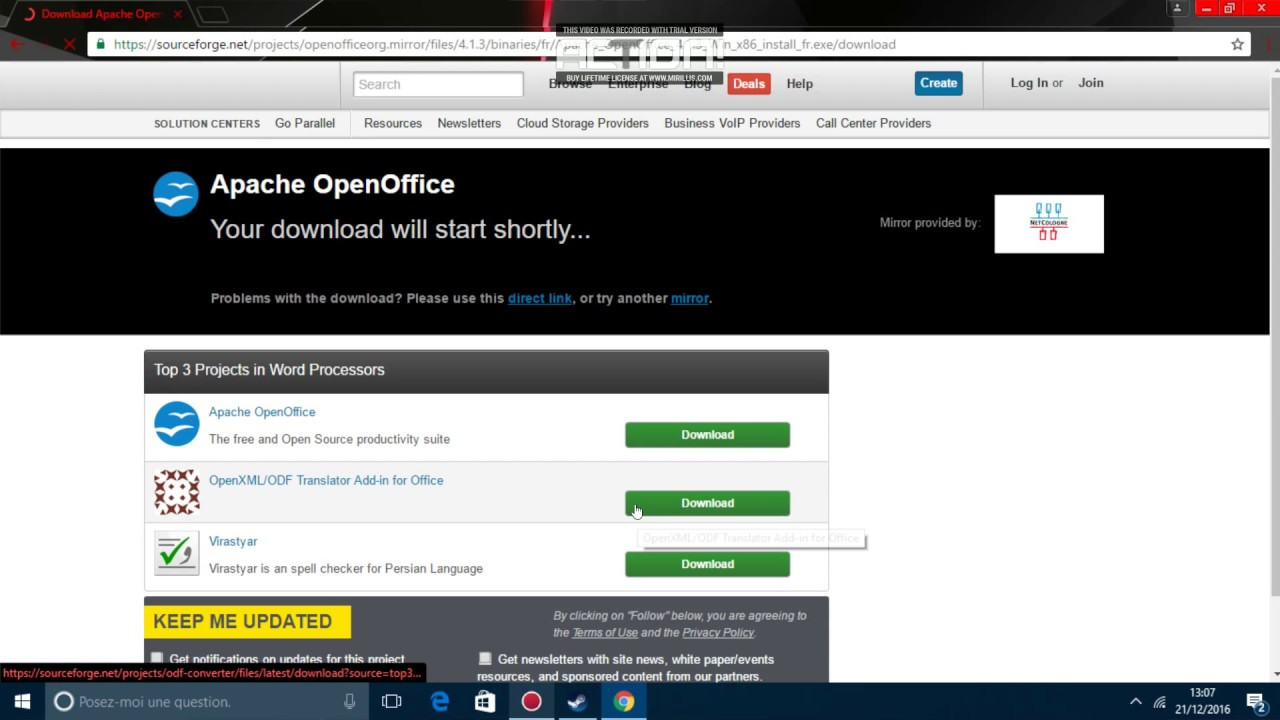 Comment installer open office en 2018 youtube - Comment installer open office gratuitement ...