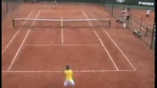 College Tennis recruiting - Juan Guillermo Florez 1/4