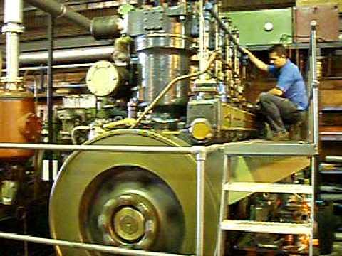 Starting Industrie VD engine