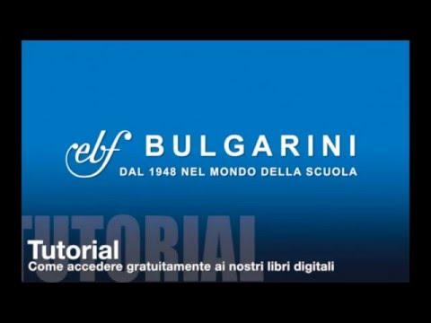 Tutorial - Accesso gratuito al digitale Bulgarini