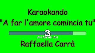 Karaoke Italiano - A far l'amore comincia tu - Raffaella Carrà ( Testo )