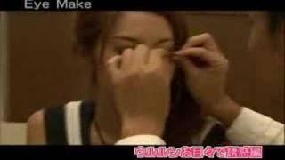 新番組ストチェン デモル:貴子さん ウルルンお目々で誘惑メイク編 http...
