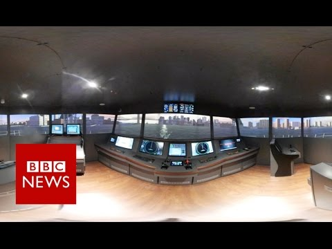 RIBA: City of Glasgow College – Riverside Campus (360 video) - BBC News