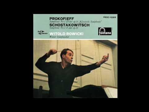 Shostakovich - Symphony No.1 (Wiener Symphonike - Rowicki)