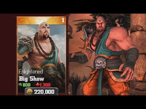 WWE Immortals (iOS/Android) OPENING ENLIGHTENED BIG SHOW Lets play Gameplay Walkthrough