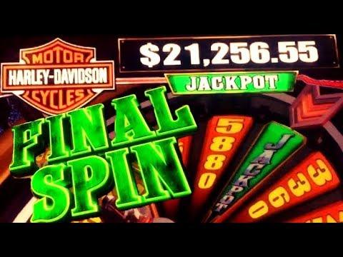 Harley davidson slot machine big win