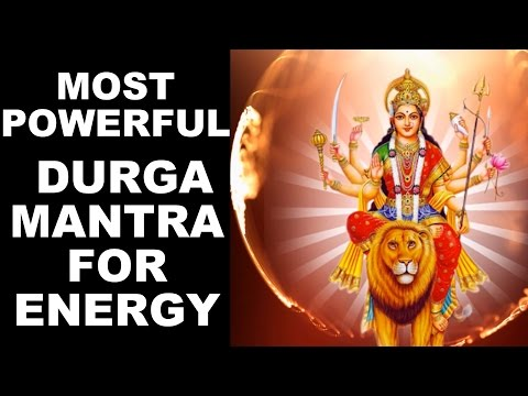 CHAMUNDAYE VICHE : MOST POWERFUL DURGA MANTRA FOR ENERGY