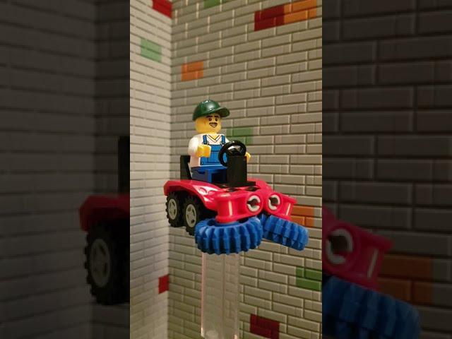 Lego City Magazine - Street Cleaner #shorts