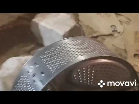 Как снять прикипевший подшипник с барабана стиральной машины